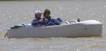 sprite pedal boat